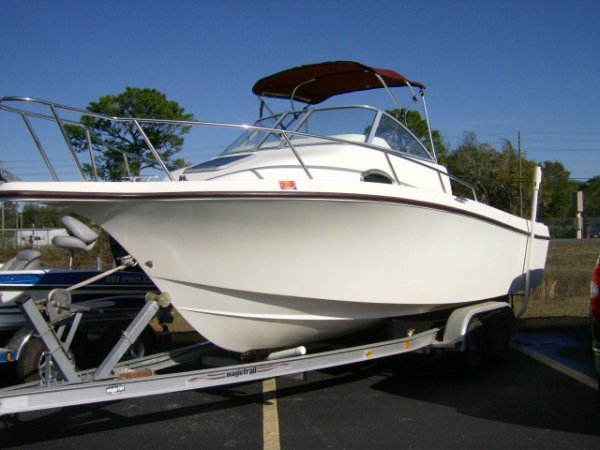Pre owned 2003 cape craft 2300wa for sale for Action craft boat parts