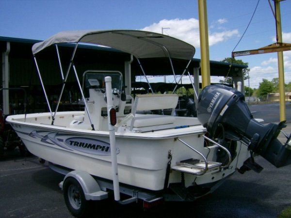 A skiff or bay boat is a small open boat usually outboard powered and used to navigate and fish salt water bays.